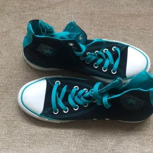 GENTLY USED High Top Converse